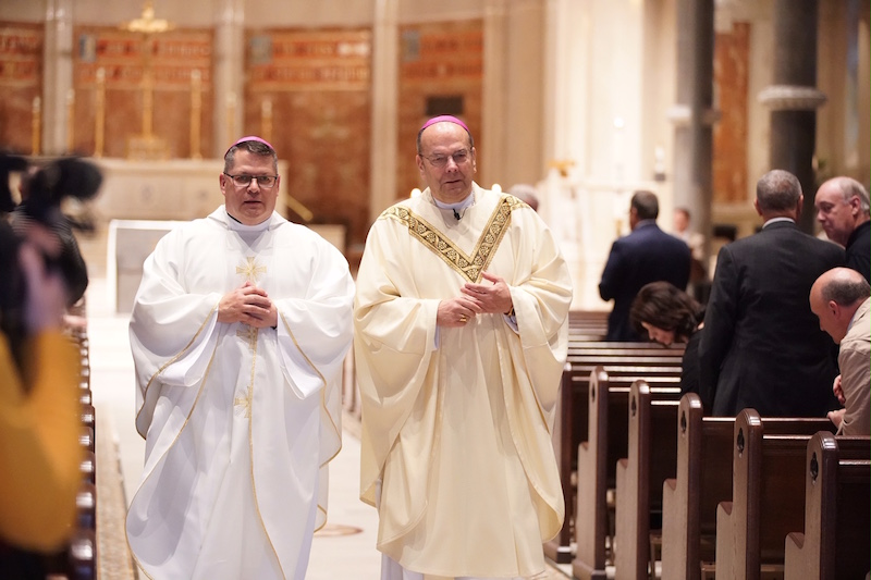 Bishop-elect Lucia celebrates Mass at Cathedral