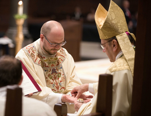 CFW06583 - 'Set apart for service': Father Nathan Brooks ordained for the Diocese of Syracuse