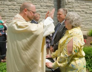 DSC07261 300x236 - 'Set apart for service': Father Nathan Brooks ordained for the Diocese of Syracuse