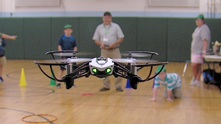 Drones take flight at St. Patrick's