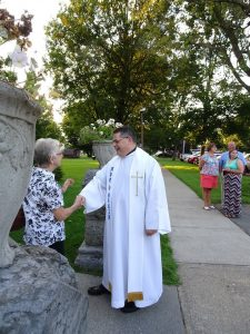Father Doug candid courtesy Diocese of Ogdensburg 225x300 - Getting to know Bishop-elect Lucia