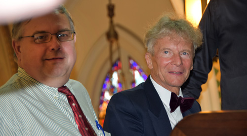 Frank Schultz and Wojciech - Glory days begin for basilica's mighty Skinner organ