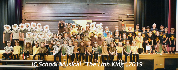 """IC School roams with the """"lions"""""""