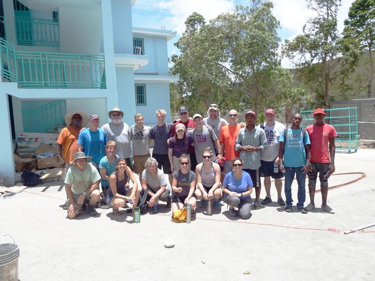 Sacred Heart parishioners make mission trip to Haiti