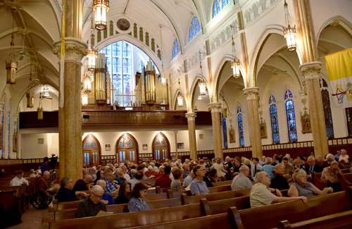 Glory days begin for basilica's mighty Skinner organ