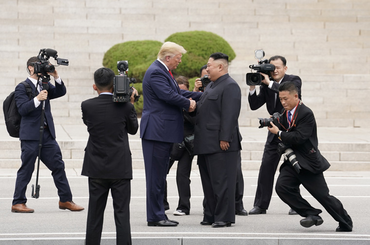Pope applauds Trump, Kim meeting in North Korea