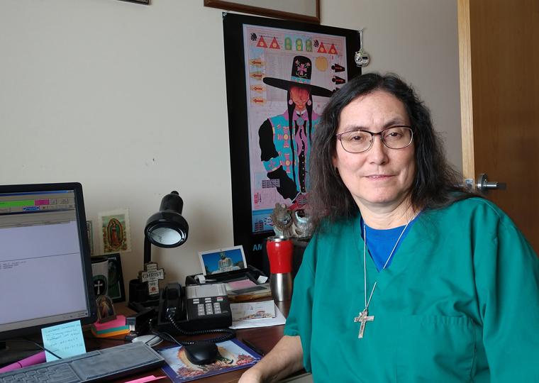 Christ is 'springboard' for doctor serving her people of Blackfeet Nation