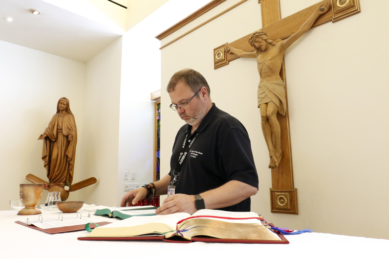 Spirituality 'just tip of iceberg' for airport chaplain always on the go