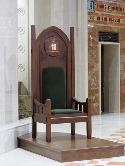 cathedra - Symbols of the Office of Bishop