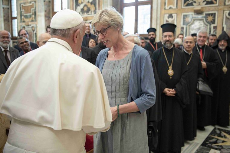 Pope, patriarch discuss canon law's relationship to ecumenism