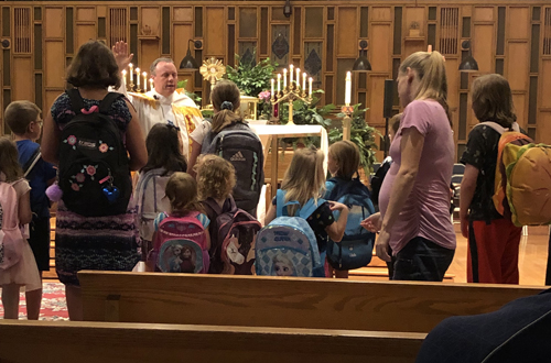 Backpack Blessing 09032019 - Back To School