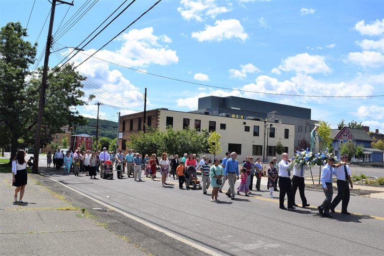 Binghamton church continues Feast Days tradition