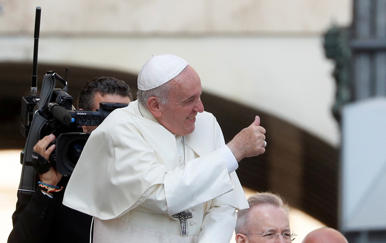 Without Holy Spirit, preaching becomes proselytizing, pope says