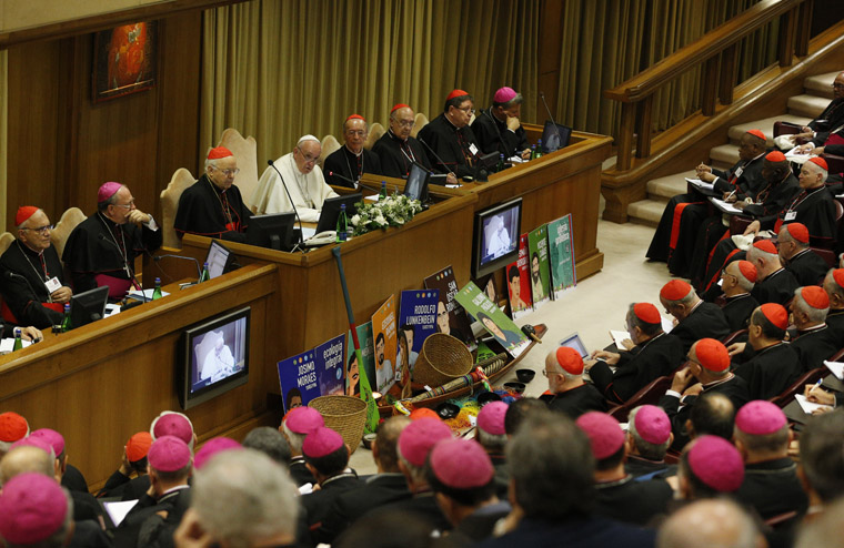 First synod talks look at climate, priests, inculturation, Vatican say