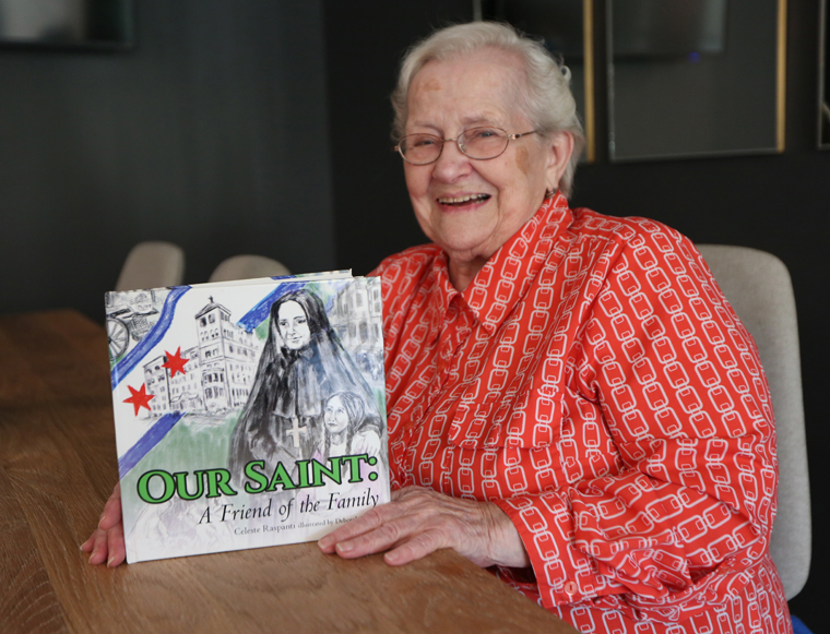 Minnesotan pens book on family's friendship with a saint: Mother Cabrini
