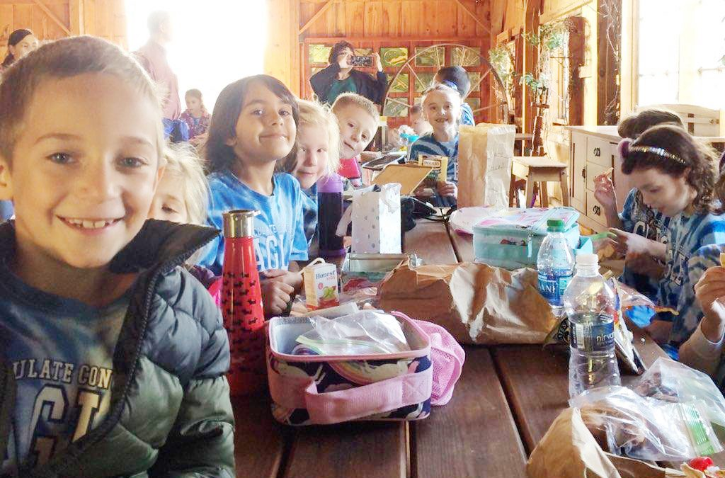 IC pupils bask in rustic life at Manlius farm