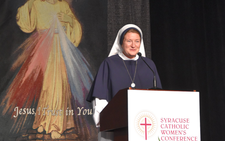 Catholic women refreshed at the 'Fountain of Life'