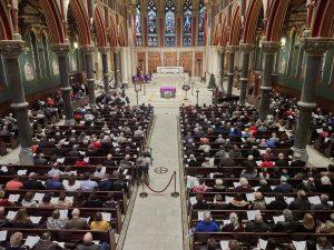 Immaculata crowd 300x225 - OLYMPUS DIGITAL CAMERA