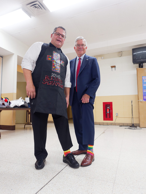 W0251097 - Catholic schools across diocese help to 'sock out cancer'