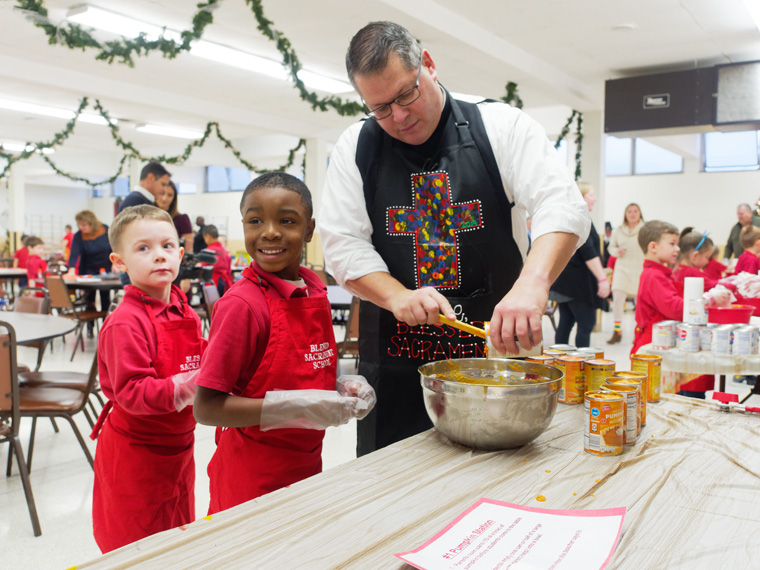 Blessed Sacrament bakes up sweet donation for those in need