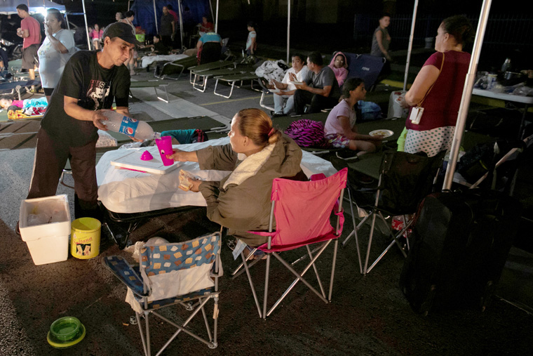 Puerto Rico reels under successive earthquakes; Catholic church damaged