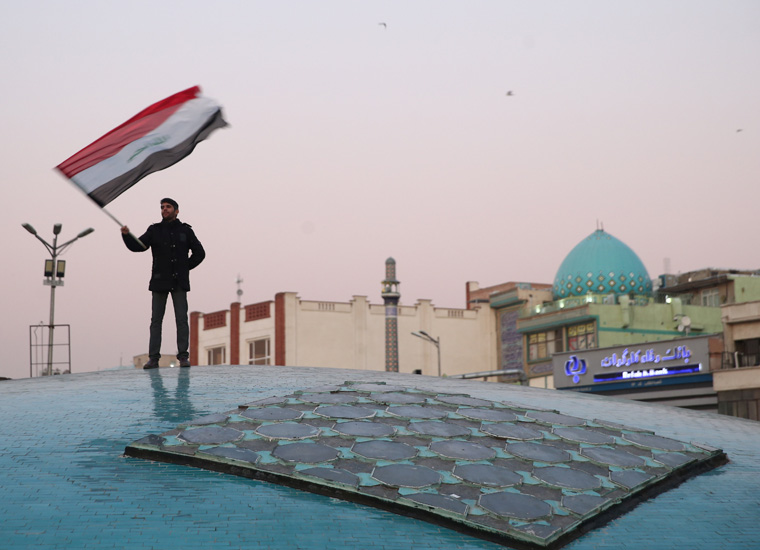 Iraqis hope attacks by U.S., Iran will ease and tensions will decrease