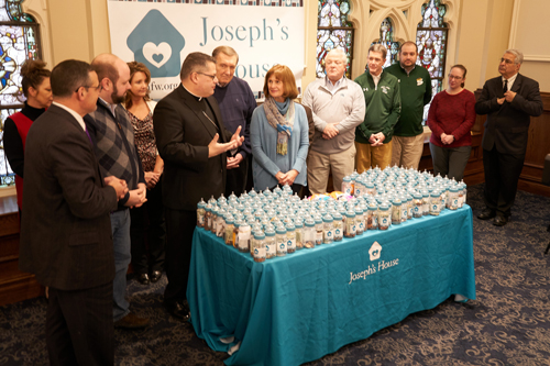 DSC4125 - Catholic schools sponsor 'baby bottle drive' for Joseph's House