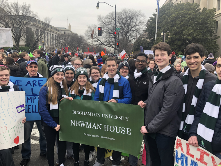 Diocese of Syracuse marches for life