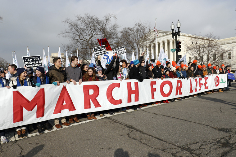 March official 'deeply honored' Trump to address pro-life crowd in person