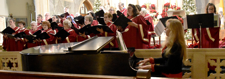 O holy tradition: Christmas Eve concert at basilica
