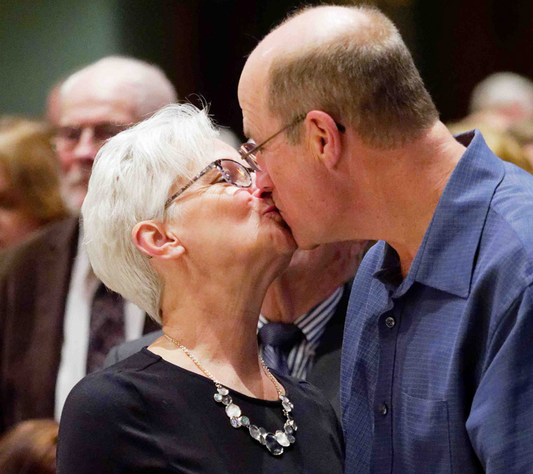 Love, sacrifice honored at World Marriage Day Mass