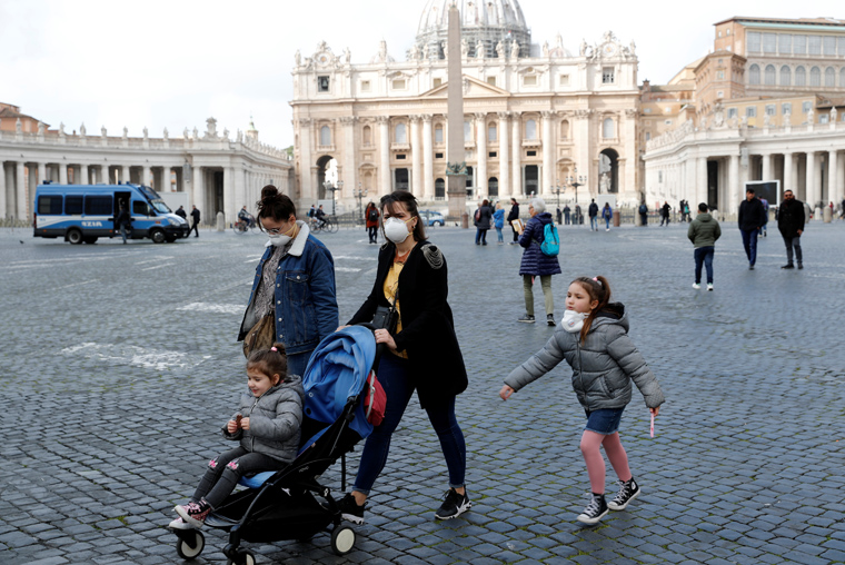 Person tests positive for coronavirus in Vatican City