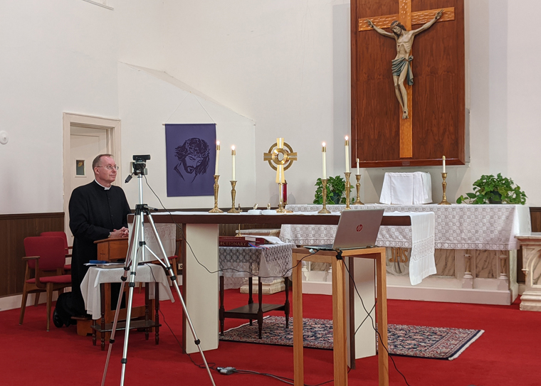 Parishes step up their social media efforts by posting online Masses