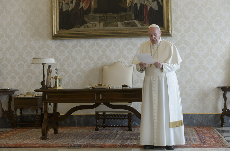 Pope, Christian leaders around the globe join in prayer for pandemic's end