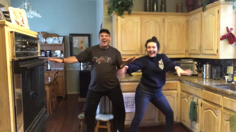 Texas Catholic family's quarantine dancing video goes viral