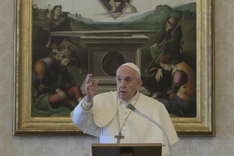 Pope joins U.N. call for immediate global cease-fire