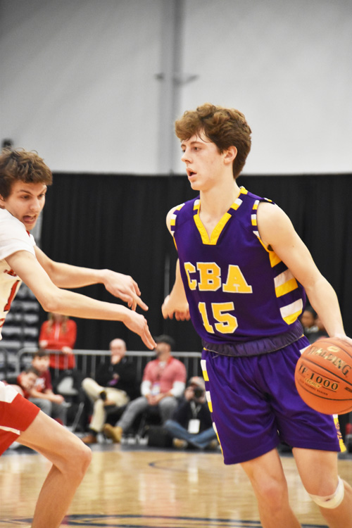 CBAs Danny Anderson dribbles2 - Hoop heroes abound