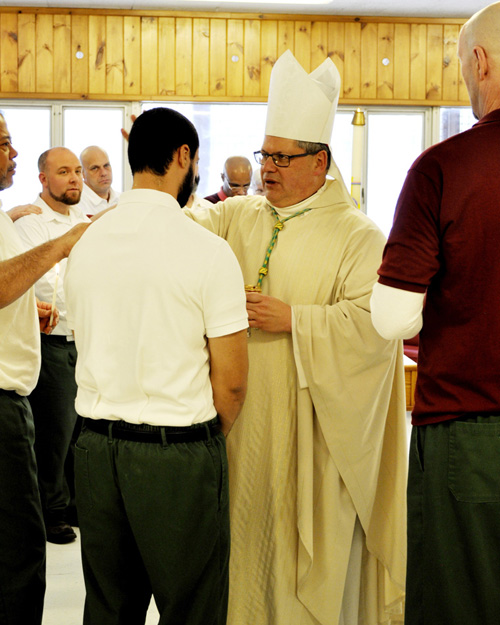 DSC0059j810 - Bishop Lucia makes pastoral visit to Mohawk Correctional Facility