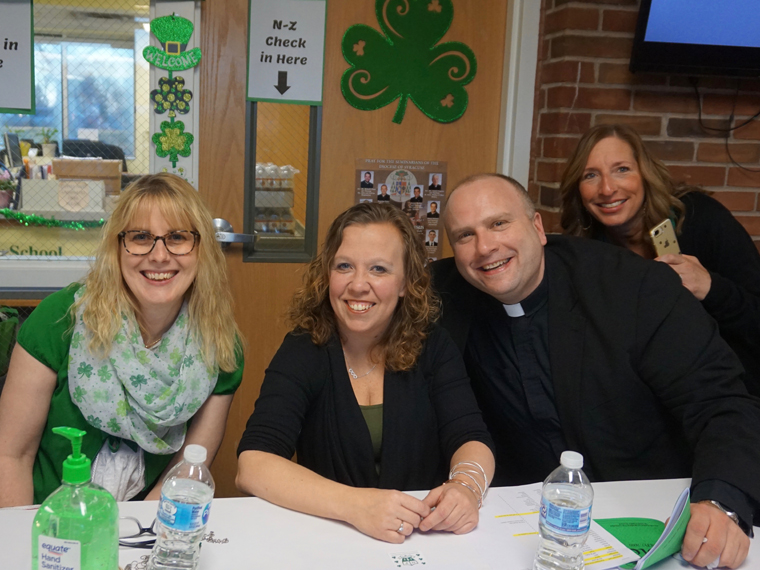 Holy Family School's Hooley supports students, builds community