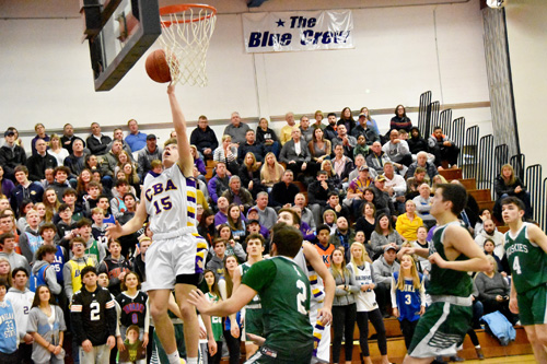 Dan Anderson left hand - State playoffs for winter sports parked in limbo