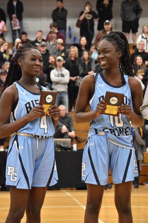 Lora Marial and Naywel Ayeil - Hoop heroes abound