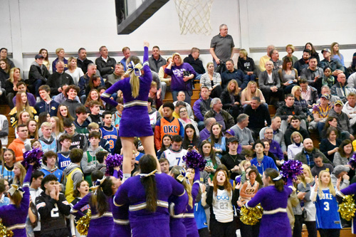 cheerleaders - State playoffs for winter sports parked in limbo