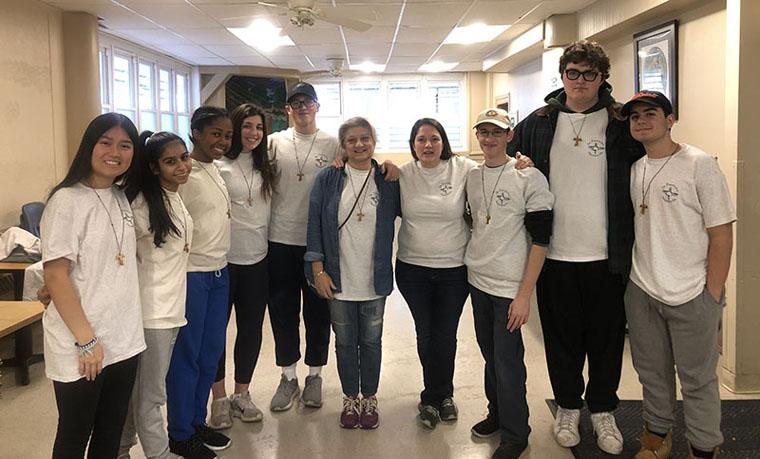 CBA students perform service in Philadelphia