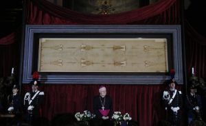20150419cnsph073 300x184 - Shroud of Turin displayed at Cathedral of St. John the Baptist in Turin, Italy