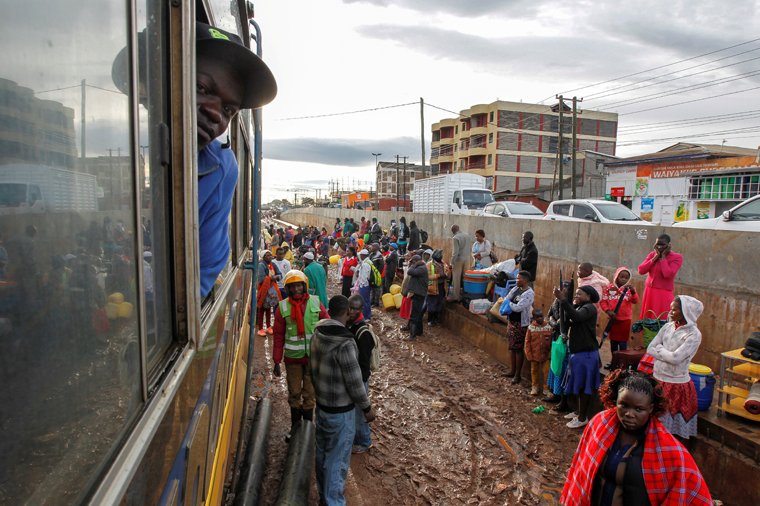 As COVID-19 cases increase, Kenyans flee cities, seeking safety