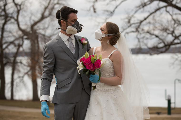 Couples find creative ways to scale back weddings during pandemic