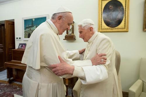 Retired pope, celebrating 93rd birthday, is well, secretary says