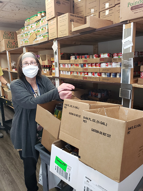 Broome County 2 - 'This is what we do': Catholic Charities committed to serve during pandemic