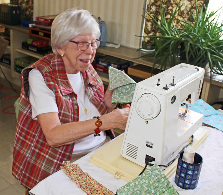 Sewing machines keep sisters' ministry humming