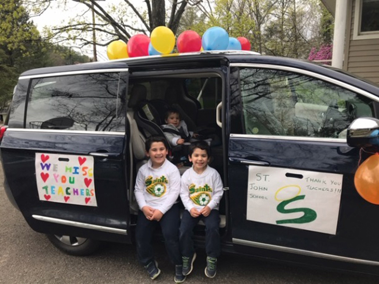 Bright Spots May 14: Parade, lunches prove love for teachers at St. John the Evangelist in Binghamton
